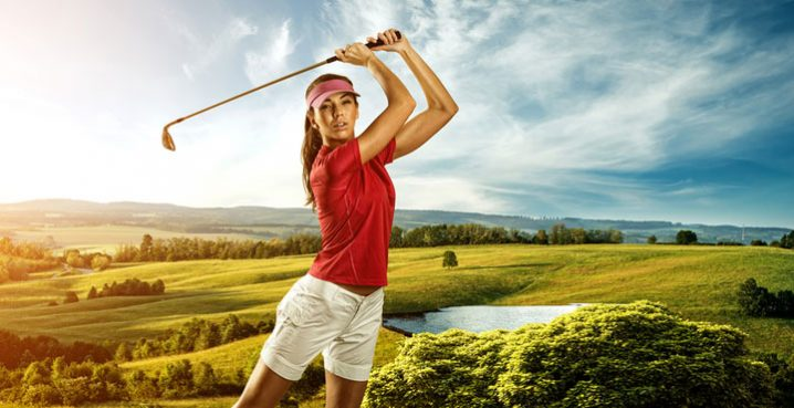 ゴルフスイングの基本 女性初心者のための正しい握り方や打ち方のコツ!