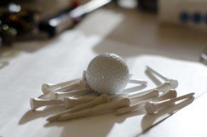 ゴルフボールは新品でも寿命がある?未使用の場合の経年劣化の目安は?