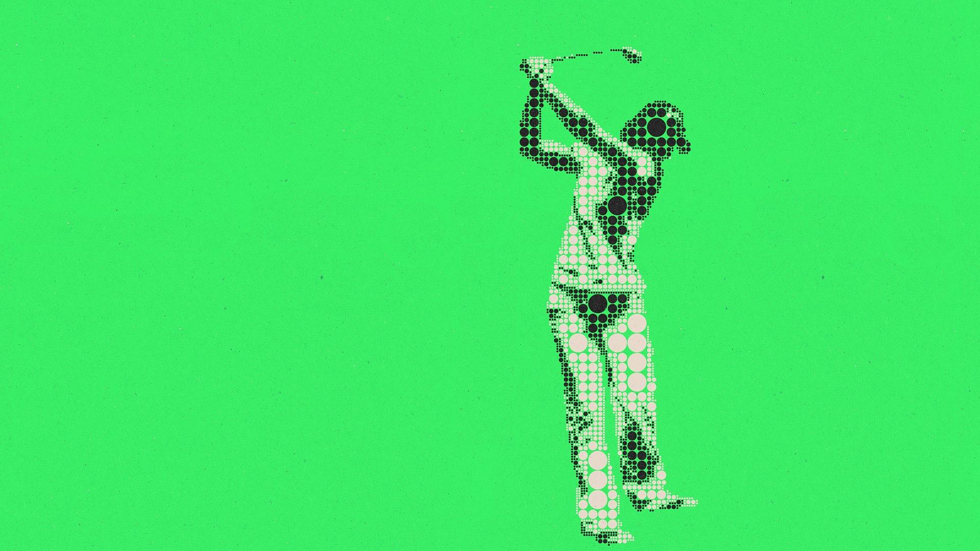 KPMG全米女子プロゴルフ選手権の賞金配分一覧 猛追の畑岡は3位でフィニッシュ